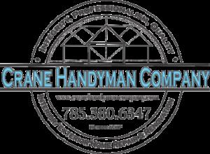 crane handyman company logo, providing handyman services in topeka ks